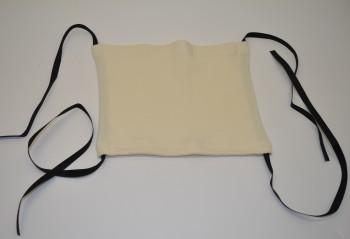 Mundmaske - Gesichtsmaske - Mundbedeckung WEISS