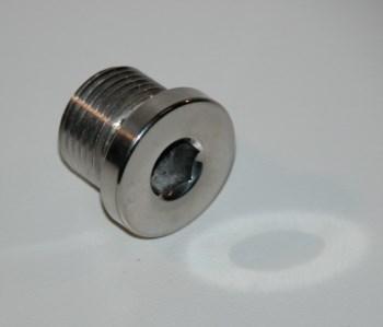 Ölablassschraube -  Verschlussschraube VA Magnet