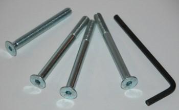 Schraubensatz Bremsbehälter für R 80 , 100 GS , R