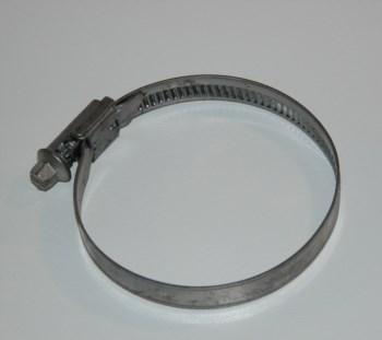 Schlauchschelle - Schraubschelle zum Fixieren 53 - 60 mm