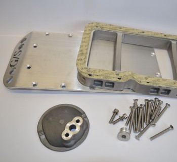 Motorschutz - Unterfahrschutz G/S 5mm aus Aluminium