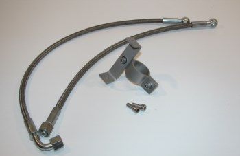 Mittenverlegung  - Verlegung Ölkühler mittig BMW