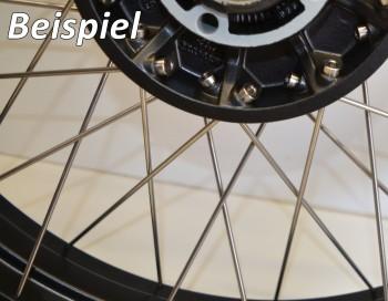 Speichensatz R 80 - 100 GS Vorderrad Edelstahl