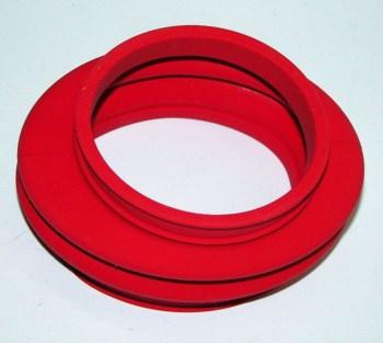 Gummibalg zw. Getriebe u. Schwinge R 2-V rot