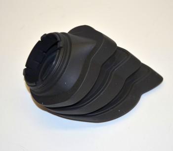 Faltenbalg 4-Ventil R 1200 Paraleverschwinge hinten schwarz