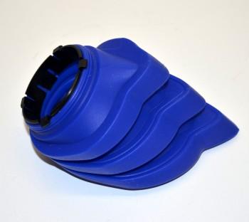 Faltenbalg 4-Ventil R 1200 Paraleverschwinge hinten blau