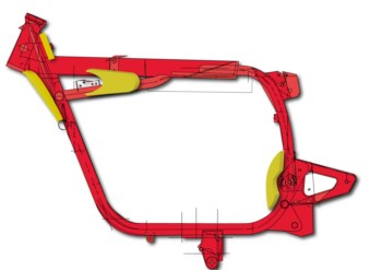 Rahmenverstärkung BMW R Rahmen