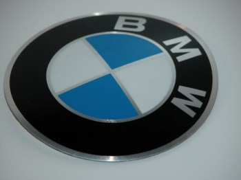 BMW Emblem -  Plakete BMW Motorrad  D = 82mm