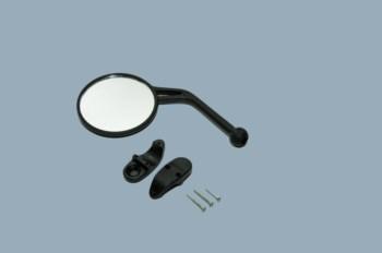 Spiegel Kunstoff Acerbis schwarz links  klappbar