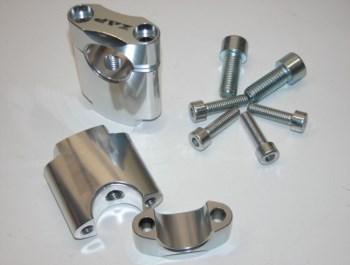 Klemmsatz für Lenker 28,6 mm - 45mm hoch