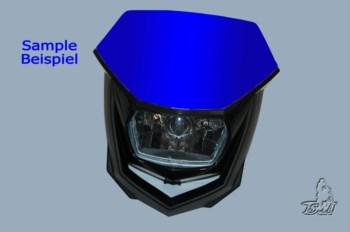 Lichtmaske - Lampenmaske  Enduro  uni blau