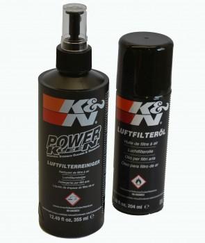 Reinigungskit m. Luftfilteröl K&N Baumwollfilter