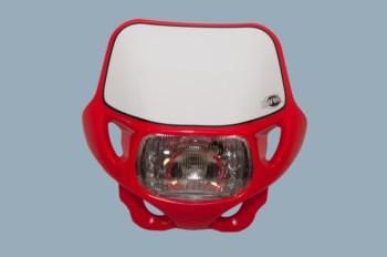 Scheinwerfer DHH mit TÜV rot