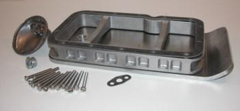 Motorschutz - Unterfahrschutz  8mm aus Aluminium
