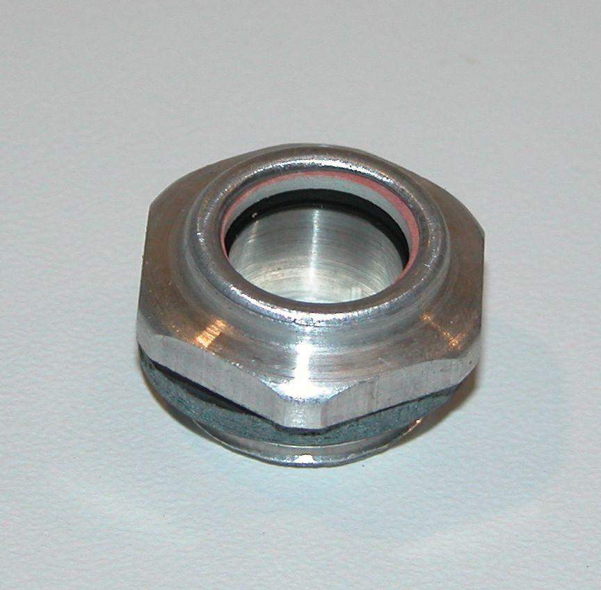 Ölschauglas - Verschlussschraube mit Ölstand