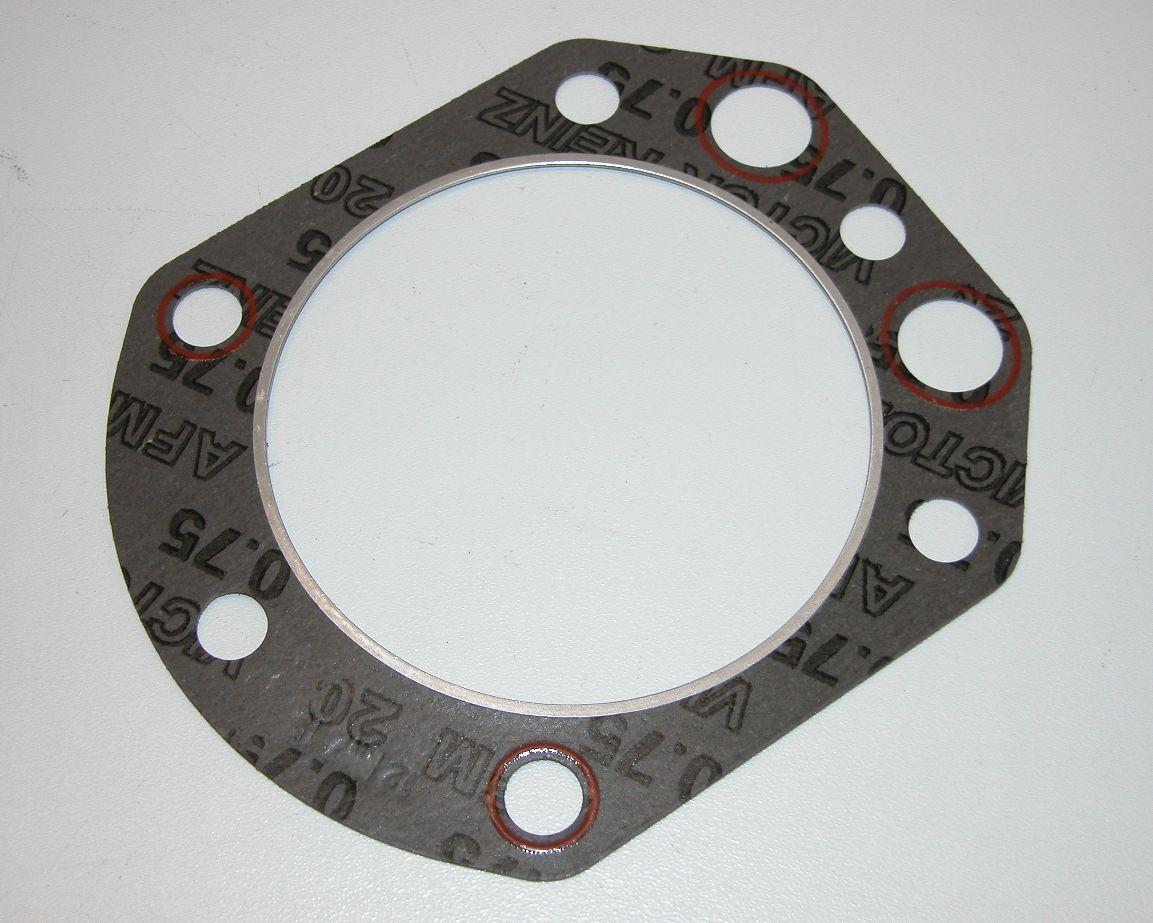 Zylinderkopfdichtung bis 900ccm  BMW R 2-Ventiler