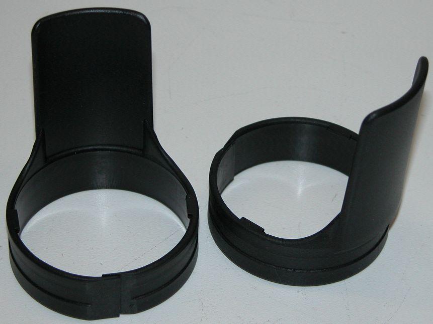 Gabelschutz   Gabelprotektoren - schwarz