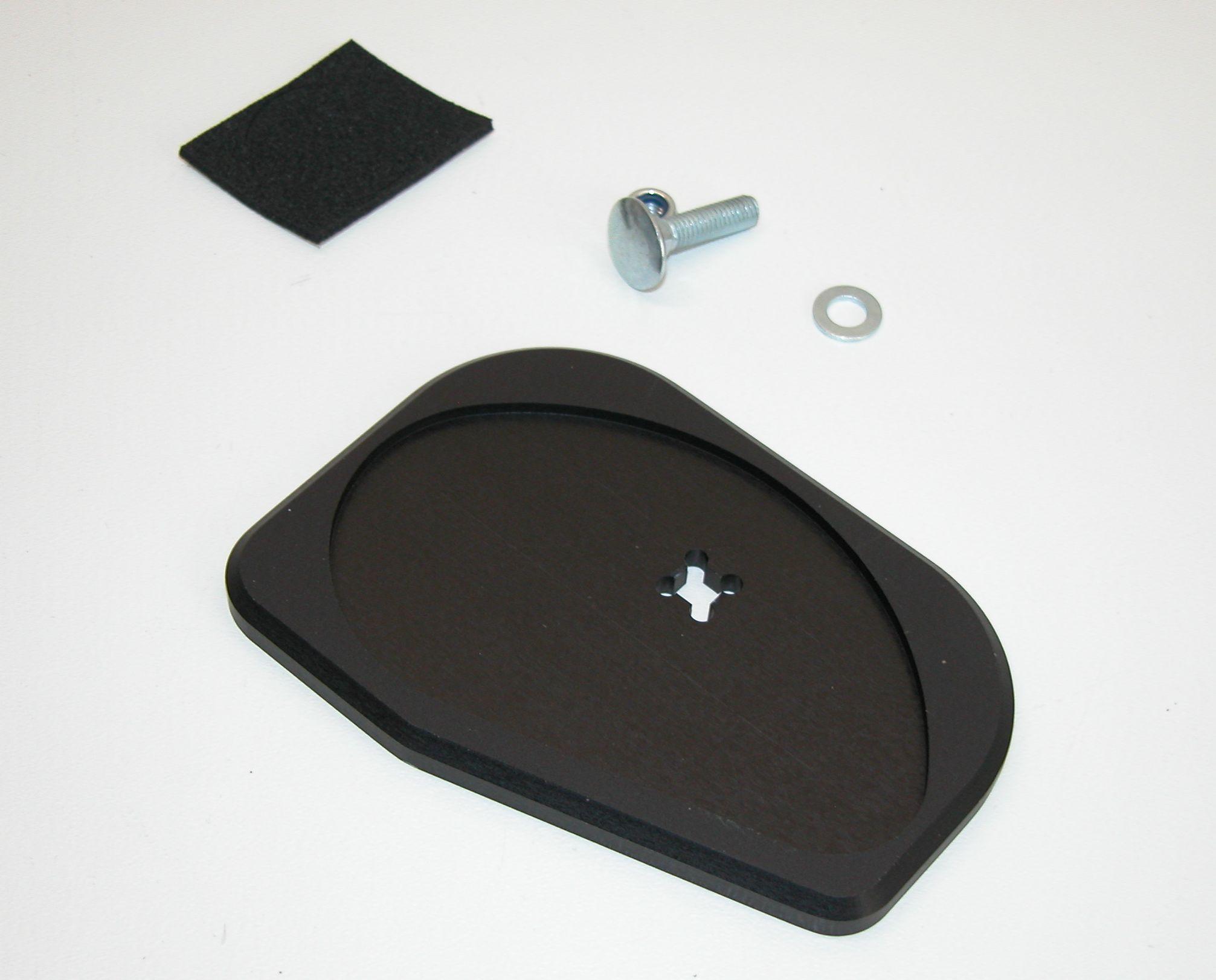 Seitenständer-Auflagevergrößerung 2V-GS + PD