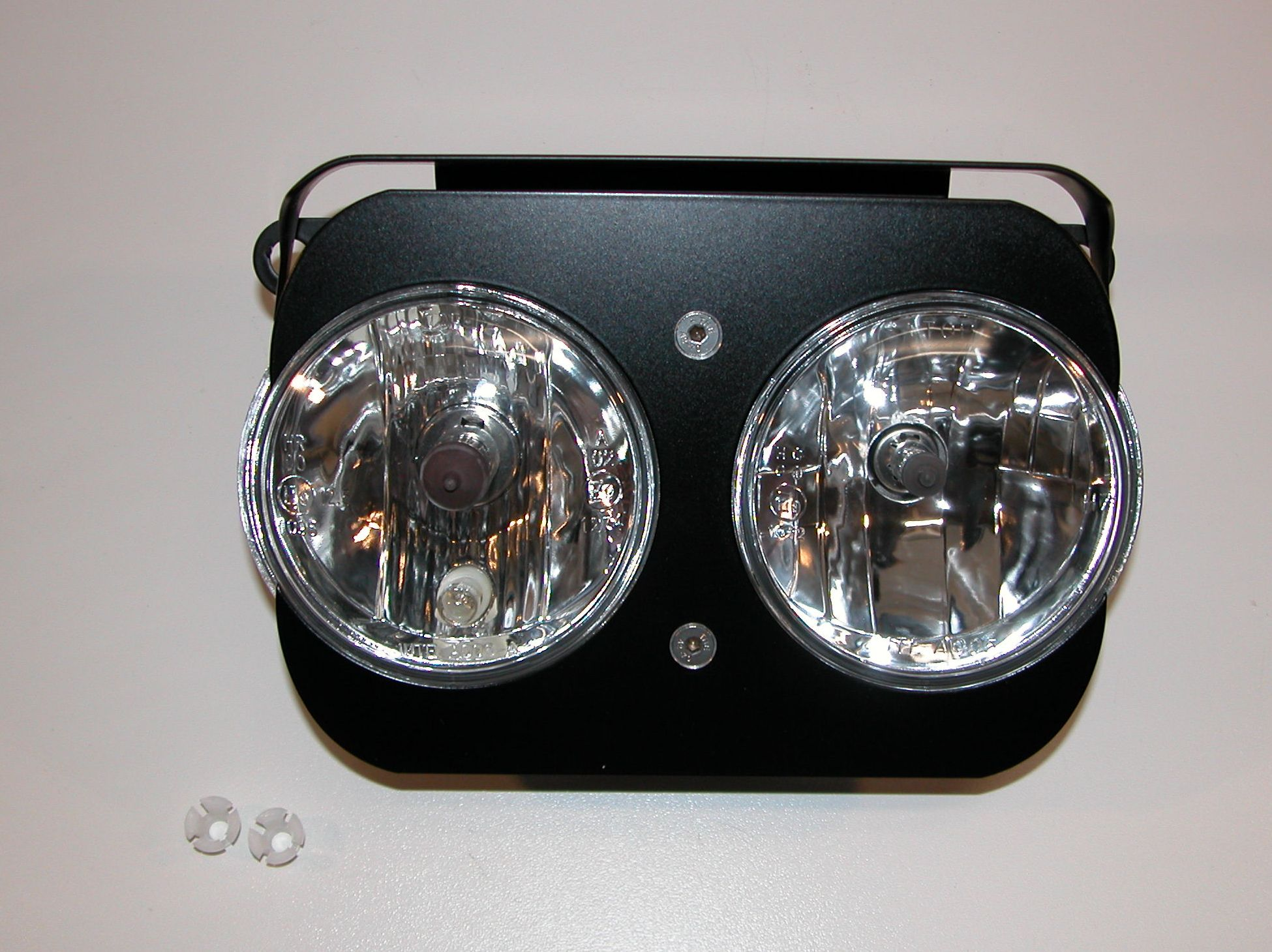Doppelscheinwerfer für die BMW R 100  -  80 GS ab