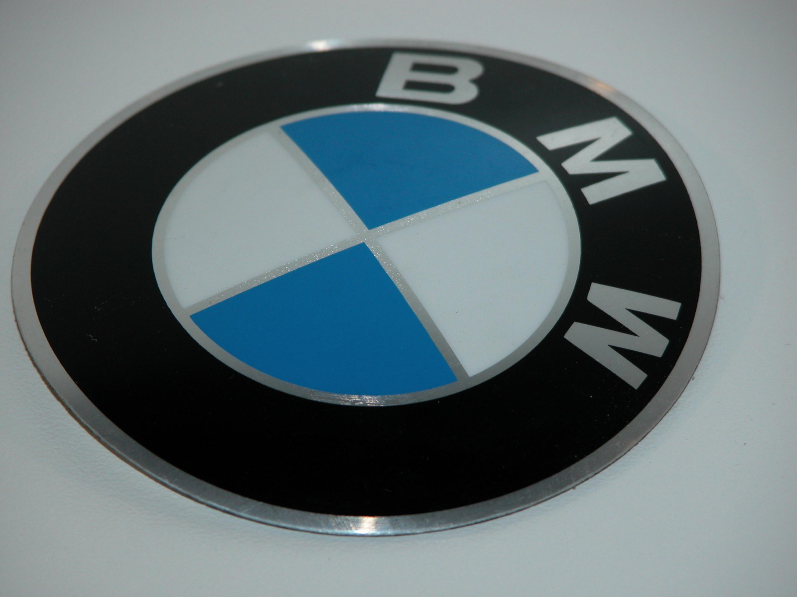 bmw emblem plakete bmw motorrad d 82mm 5253465. Black Bedroom Furniture Sets. Home Design Ideas