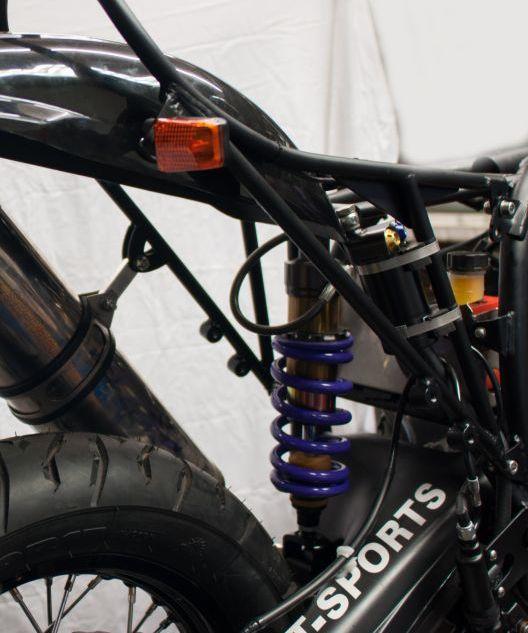Stoßdämpfer Hyperpro BMW R 80 - 100 Umbauschwinge