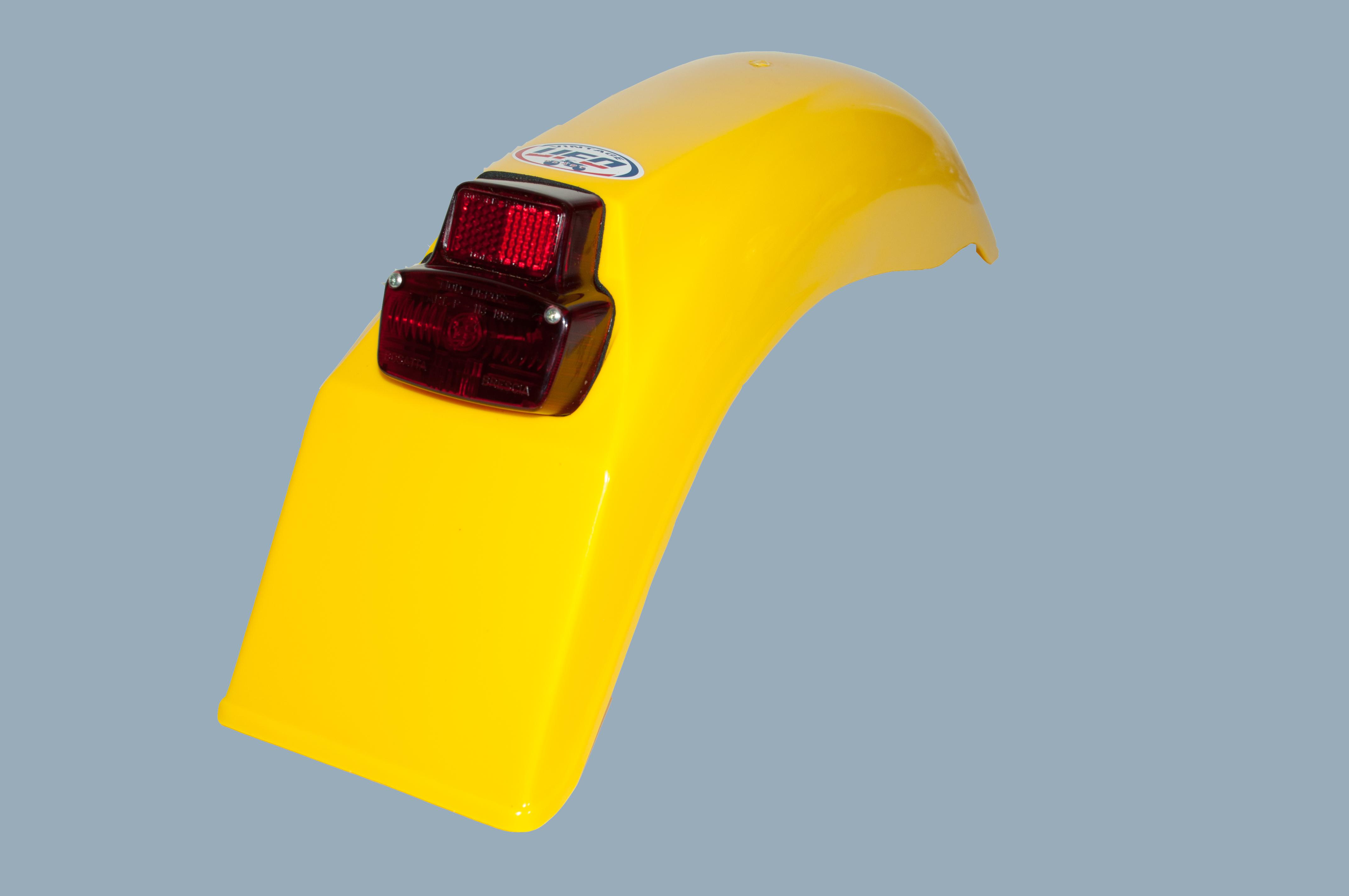 Enduro Kotflügel UFO hinten gelb