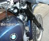 Gabelbrücke für 48er USD WP Gabel mit TÜV für BMW Motorrad 2V