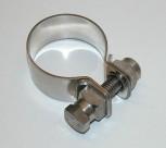 Edelstahlschelle Schalldämpfer 35mm
