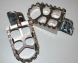 Fußraste  Zahnraste  für R 80 - 100  GS Modell