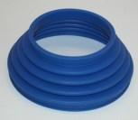 Faltenbalg 2-Ventil Paraleverschwinge hinten blau