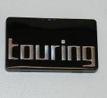 Emblem TOURING 61x35mm für Koffer und Zubehör