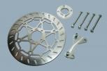 HE-Bremsadapter und Bremsscheibe für GS 1 Kolben