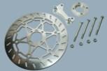 HE-Bremsadapter und Bremsscheibe für GS 4 Kolben