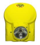 Lampenmaske UFO  Retro - Vintage  uni gelb