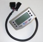 Acewell ACE-254 Motorradtachometer Silber